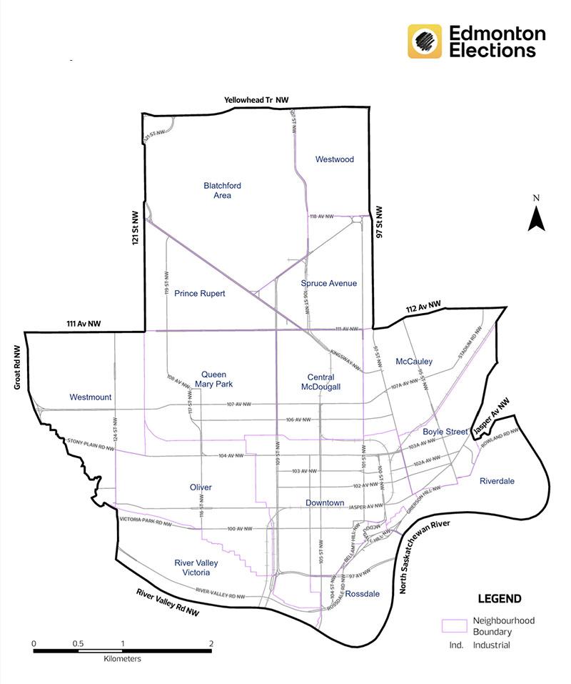 Ward Map for O-day'min